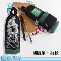 High quality anime Attack on Titan Shingeki no Kyojin allen student pencil bag box school  gift