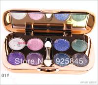 100% authentic 8 colors Eye shadow diamond bright eye shadow (1#~6#)Freeshipping