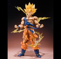 Bandai Exclusive Figuarts Zero Dragonball Z Super Saiyan Son Goku 6 inch PVC Figure Doll Toy
