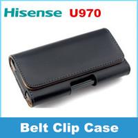 Hisense U970 phone Case Belt Clip Pouch flip cover case