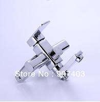 Free ems shipping wholesale single handle wall mounted bathroom bathtub handheld shower tap mixer faucet 11302