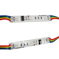 20pcs/string NON-waterproof led pixel module,3pcs SMD RGB 5050,1pcs WS2801,256 gray level,DC12V,0.72W