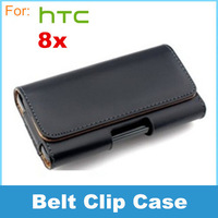 phone Leather Case Belt Clip Pouch For HTC 8x C620e