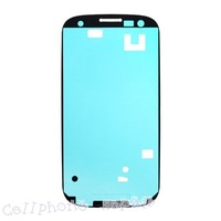hk freen shipping 10pc/tvc-mall OEM for T-Mobile Samsung Galaxy S III SGH-T999 LCD Frame Bezel Plate Adhesive Sticker
