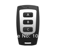 rf wireless remote control (N0.B 3Button work with remote master) for garage door,car remote,alarm system, remote duplicator etc