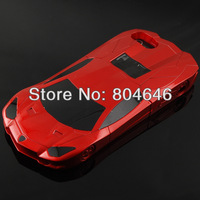Wholesale 455 red sport car model hard case stand case for iPhone 5 5S Italy Bull stand Lamborghini Need for speed Most wanted