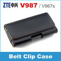ZTE V987 V967s phone Case Belt Clip Pouch flip cover case