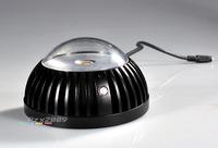 CCTV Surveillance IR Illuminator Dome 3800mW 850nm LED Array 120m For Camera LSZ-100MA 120 degrees Black Invisible Indoor