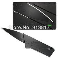 Free shipping Credit Card Safety Folding Knife Sharp Blade Black Safety Folding knife Razor Sharp 2 PCS