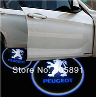 Direct Sale Good Quality 5W LED Auto Pojector Laser Light /LED Welcome Car Door Logo Light shadow light for Peugeot