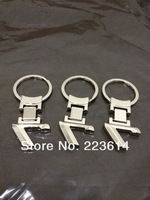 new metal letter keychain with logo for bmw 7 series logo key ring for bmw free shipping