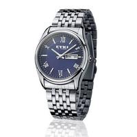 Retro Roman scale quartz movement  calendar week luminous hands waterproof watches for men and women 2014 New