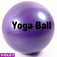 High Quality Yoga Ball+Air Pump Maximum Load 200KG Thicken Explosion proof PVC Body Beauty Training Freeshipping