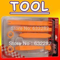 8 Pcs/Set Car Plasctic Radio DVD GPS Panel Stereo Dash Removal Install Tools Kit