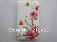 Sample Retail Butterfly Flower Heart Zebra Flag Star TPU Rubber Soft Cover Case For Sony Xperia E Dual C1605 C1505