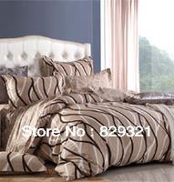 Home textiles,100% cotton bedding set,fashion duvet cover set,plaid pattern bed set,bedspread,bed sheet set,pillowcases
