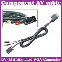Component AV cable For X-B0X 360 DV-15S Standard VGA Connector