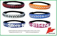 non slip leather softball headband baseball headband DHL free shipping