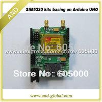 WCDMA shield for Arduino SIM5320E development kits