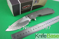 MICROTECH D.O.C Wild boar made Bearing washer folding knife Microtech DOC titanium alloy handle tactical knive tools