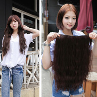 Free Shipping(min. $20) 100g 60cm Women's Long Curly/Wavy Clip-in Hair Extension Hairpiece Hair Accessories Lengthen and thicken