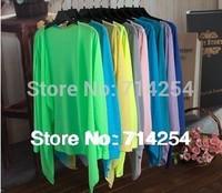 Long-sleeved shirt Slim   sunscreen clothing bamboo cotton jersey cardigan air conditioning,Free shipping----JOLINA SHOP
