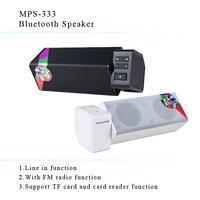 Free shipping mini bluetooh Speaker with Rechargeable Battery wireless bluetooth speaker system with FM/TF function