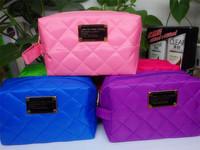 Beautician 10Colors cosmetic makeup bag women's organizer bag handbag travel bag insert with pockets storage bags Free shipping