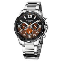 New 2014 fashion style EYKI men sports watches waterproof quartz steel band watch
