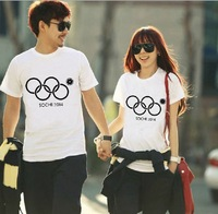 2014 Free Shipping New items Winter Olympics Sochi problems 4.5 Rings T-shirts POLO Shirt Top Tees