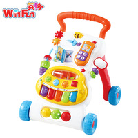 T walker baby music piano child multifunctional cart walker baby toy