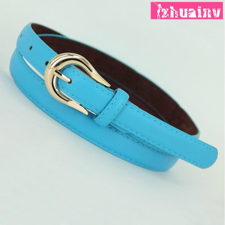2015 spring new Korean-style belt with knot on the edge accessory female Korean belt Jean belt female(China (Mainland))