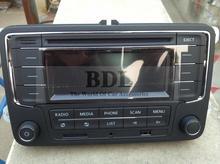 VW OEM Original Car Radio RCN210 USB Unused Support SD AUX Bluetooth For Passat B6 Polo Golf MK6 Jetta MK5 Tiguan(China (Mainland))