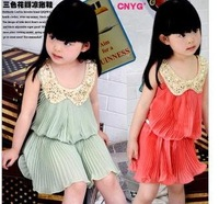 FREE SHIPPING! 2014 NEW ARRIVAL! new fashion chiffon toddler girl dresses,Sequin,Fold,beautiflu