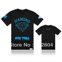 New apparel T-Shirt Diamond Supply co men Clothing hip hop Casual outdoor sport short-sleeve t shirts Been Trill fashion Clothes