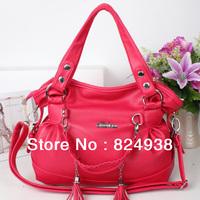 2014 new wave of female shoulder bag Messenger bag Korean version of the influx of casual fringed bag