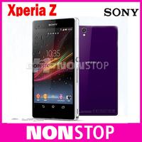 Sony Xperia Z Original Unlocked Mobile Phone Sony L36h 16GB Quad-core 3G&4G GSM WIFI GPS 5.0'' 13.1MP Sony Xperia C6603 C6602