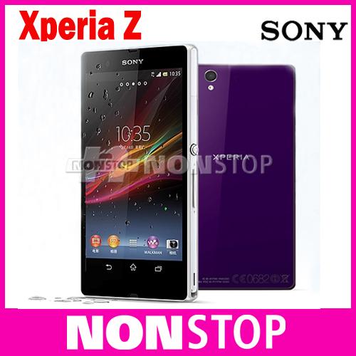 Sony Xperia Z c6603 Original Unlocked Mobile Phone Sony L36h 16GB Quad-core GSM WIFI GPS 5.0'' 13.1MP Sony Xperia C6603 C6602(China (Mainland))