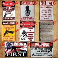[ Mike86 ] Retro Gun Metal Sign Wall art decor House Cafe PUB Vintage Tin Sign RA-030 Mix order 20*30 CM