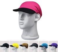 Wholesale 10pcs COOL Men Sports Brim Hats Women Summer Soft Baseball Caps Mens Spring Outdoor Cyclist Sun Cap Fast Dry Sport Hat