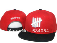 Freeshipping,2014 New Hot 3Color Undefeated Caps ,Men Women  Fashion Design Brand Baseball Hats snapbacks bones