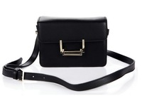 2014 New High Quality Genuine Cowhide Leather Bag Women Fashion Mini Shoulder Messenger bag