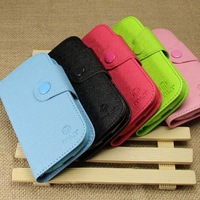Luxury Stand Wallet Leather Case For Sony Xperia Z L36H Phone Bag Cover With Card Holder Pink Blue Black Green Free Gifts