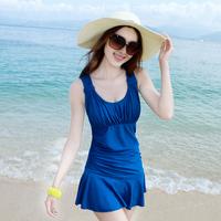 New Fashion women lady girl female Hot spring swimsuit one-piece dress plus size swimwear Beach bathing suit