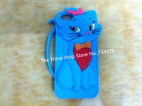 Free shipping Hot New Arrivals 3D Tom Cat case Lovecat silicone Case Cover For iPhone 4 4G 4S 5 5G 5S