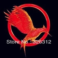 Wholesale Fashion accessories Jewelry Hot Movie Hunger Games 2: Catching Fire Brooch Pins women men with back card Package RJ031