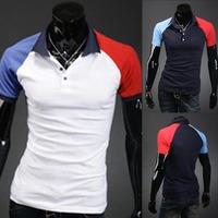 2014 best selling summer hot casual slim tshirt for men short sleeve mens t shirt M/L/XL/XXL