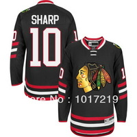 Free Shpping Whoelsale Cheap 2014 NHL Hockey Jerseys Chicago Blackhawks #10 Patrick Sharp Jersey,Embroidery Logos