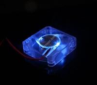 10Pcs EVERCOOL 4010 4cm 40mm cool blue LED fan Fan 4CM 40X40X10 mm 12V 0.09A