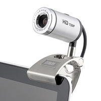 Aoni D881 HD 720p webcam small steel gun computer webcam HD Night vision High Definition Cameras Built-in Microphone